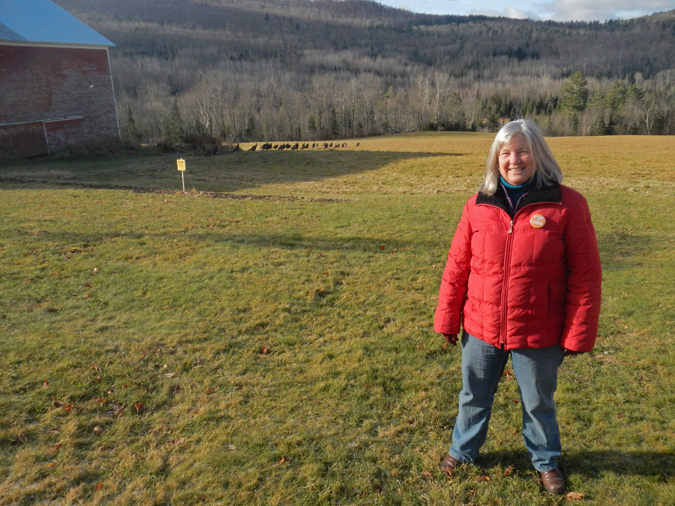 "Nancy Martland in Sugar Hill: ""People in New Hampshire—we want to stand up for ourselves."" Photos by Barry Yeoman."