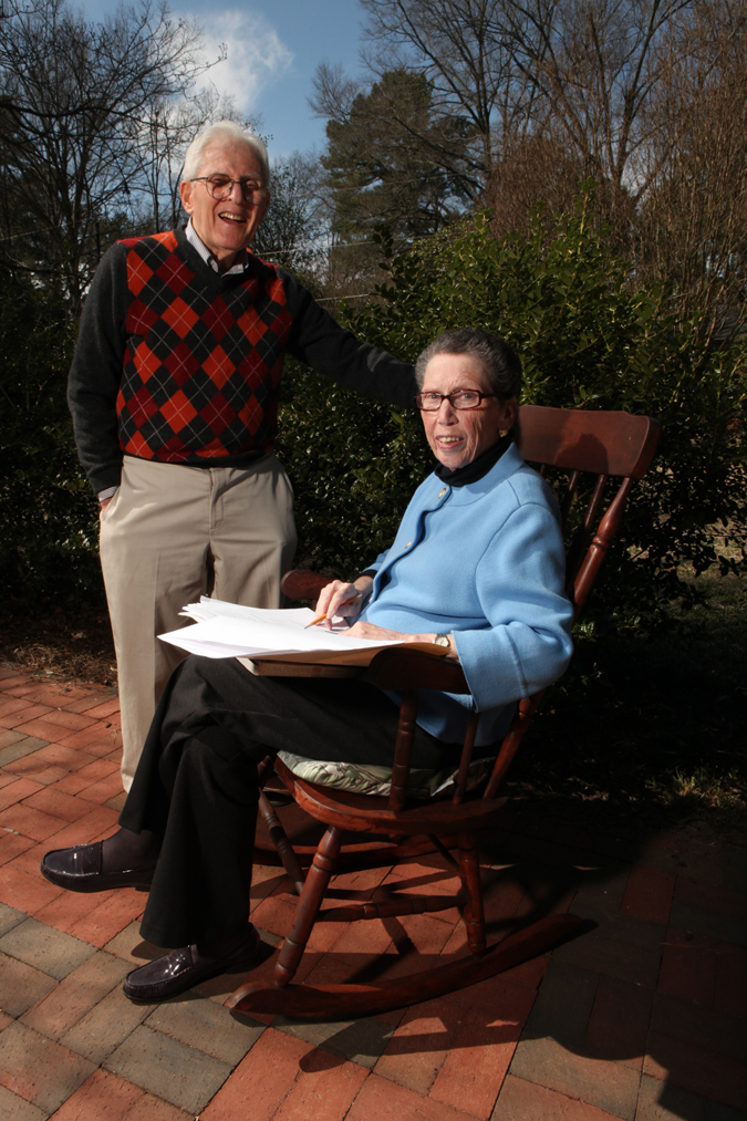 Sue and Bob Otterbourg, 2011. Photo by Angie Smith.