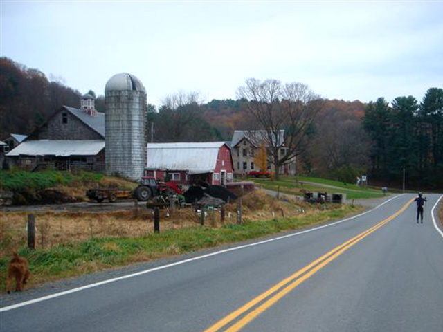 Franklin Farm, Guilford, Vermont. Photo by Barry Yeoman.