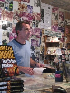"Writer Chris Rose reading from new edition of his book ""One Dead In Attic"" at the Maple Street Book Shop. Photo by Infrogmation, published under a Creative Commons license."