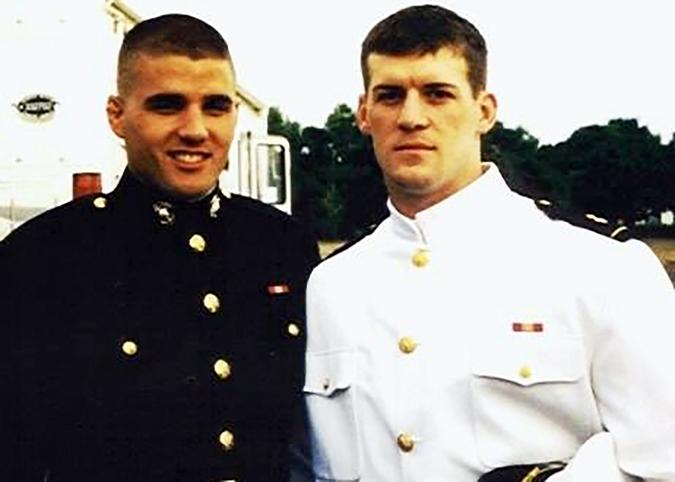 Travis Manion and Brendan Looney.