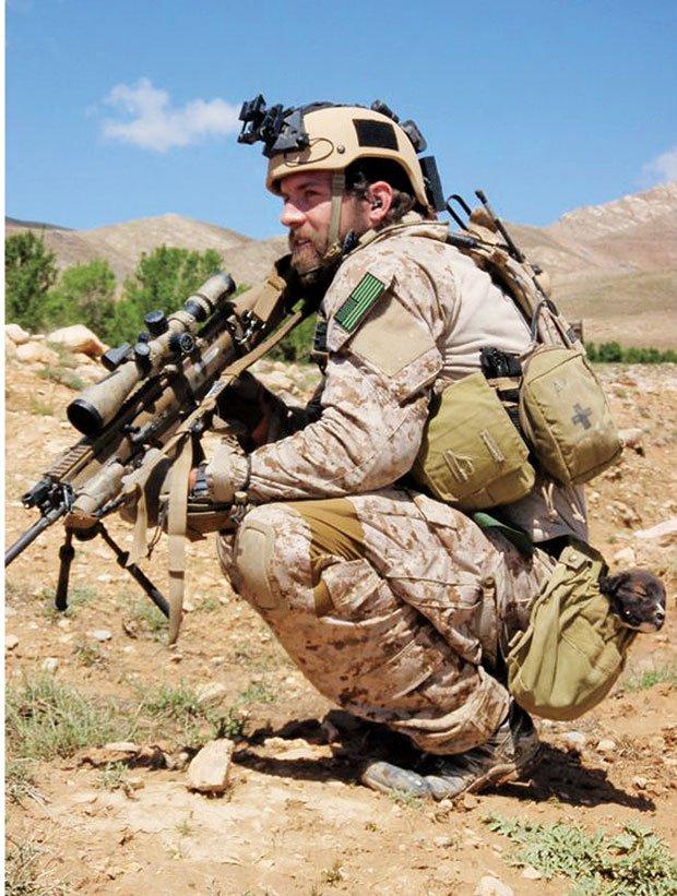 Brendan Looney in Afghanistan in 2010.